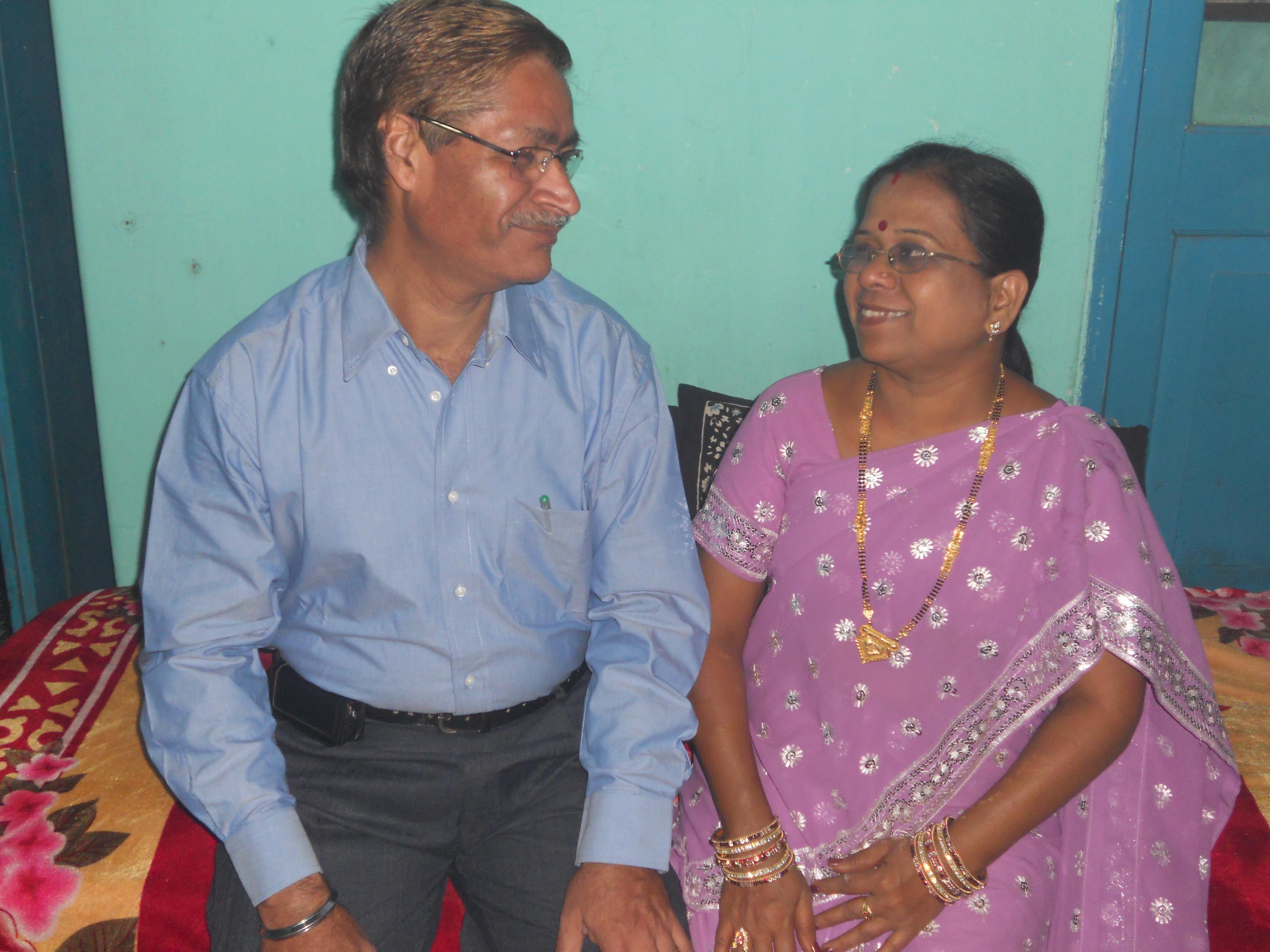 Mr. B V R Varma & Sunita Varma