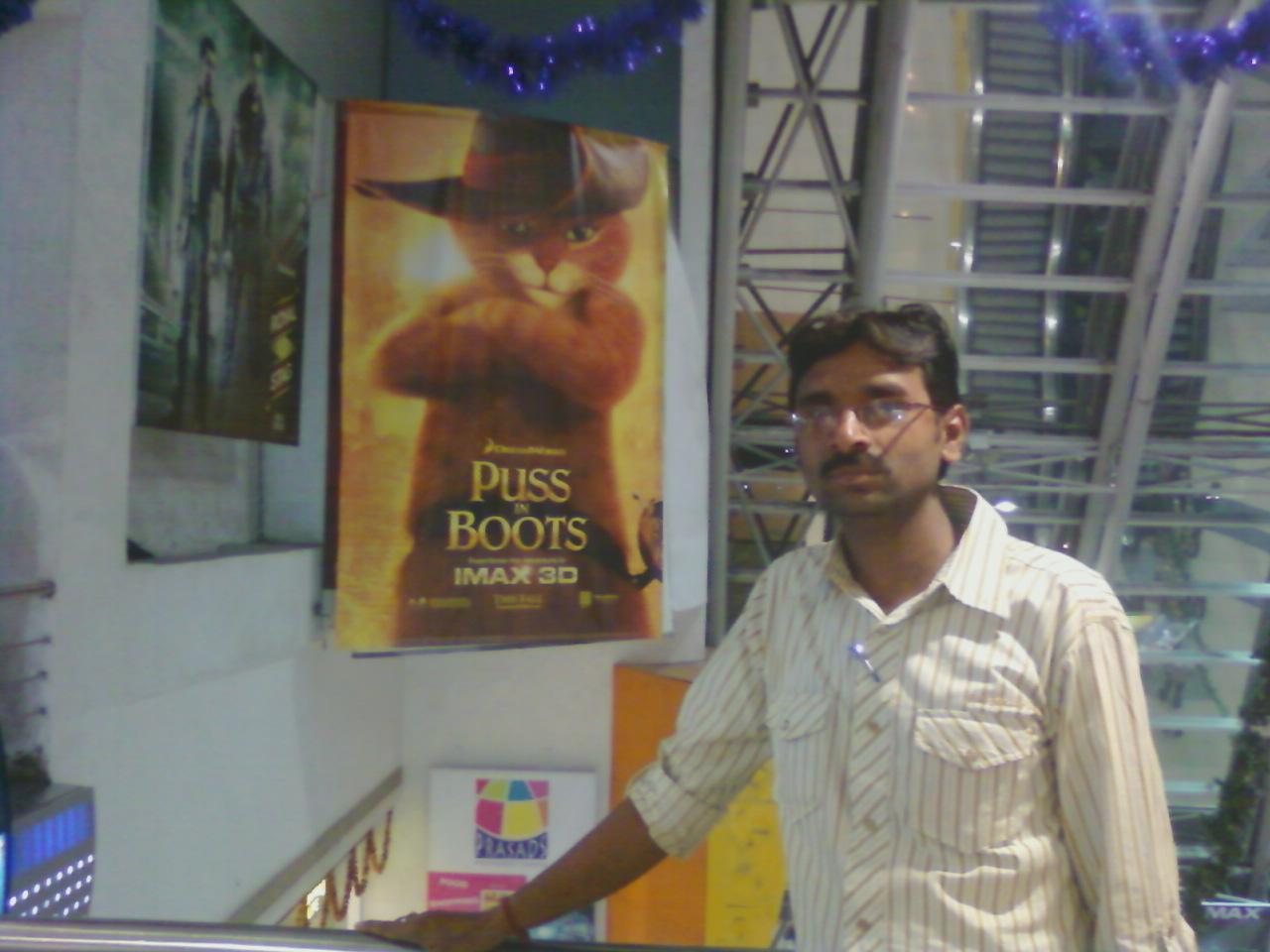 Chandra Sekhar @ IMAX