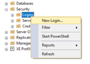 SQL Server Security Login