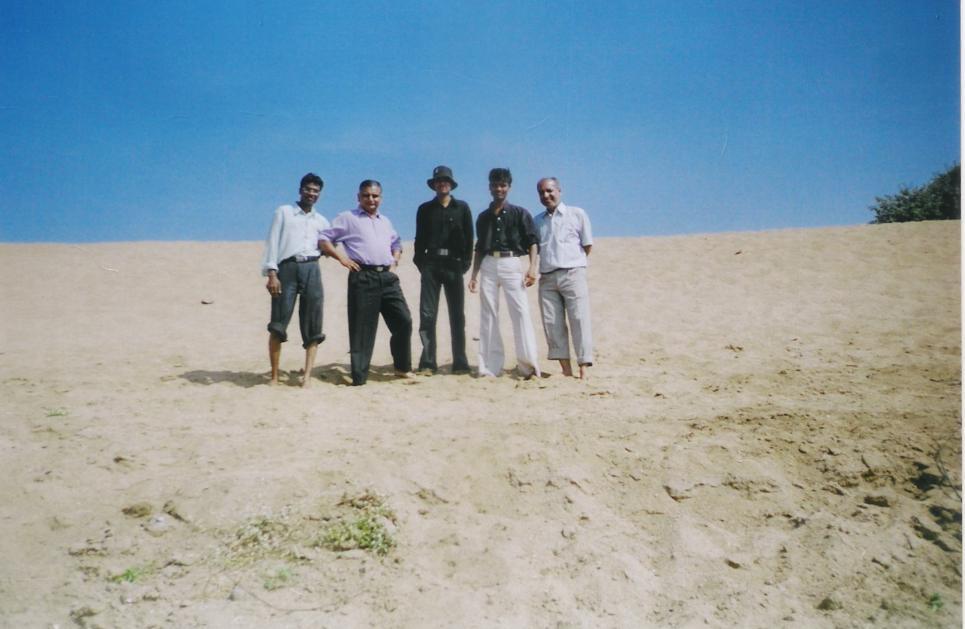 Sanjoy syam, Manish, Rupesh and Anil Jha